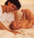 קשר בין אמא לתינוק